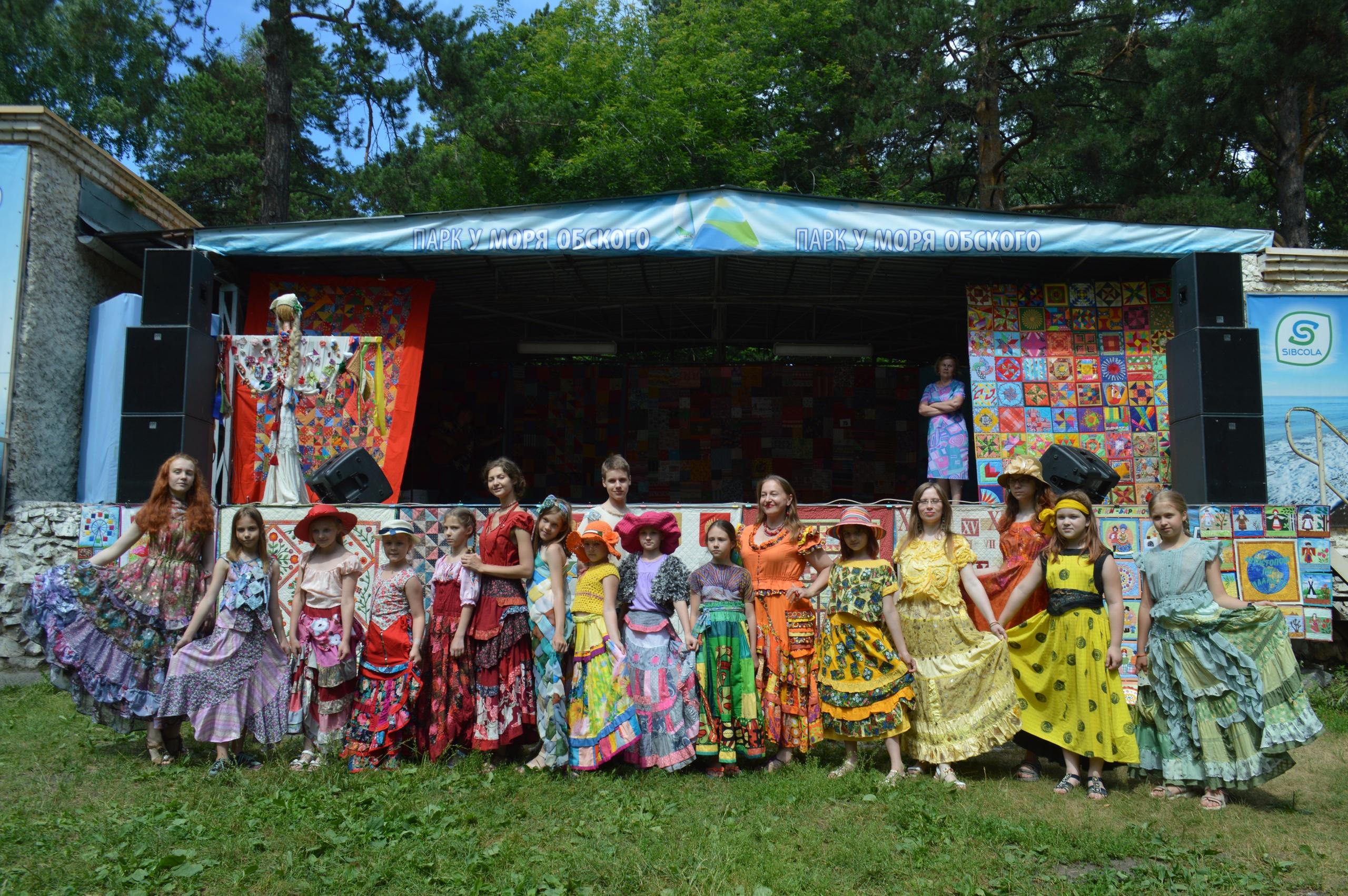 В Бердске завершился фестиваль лоскутных одеял