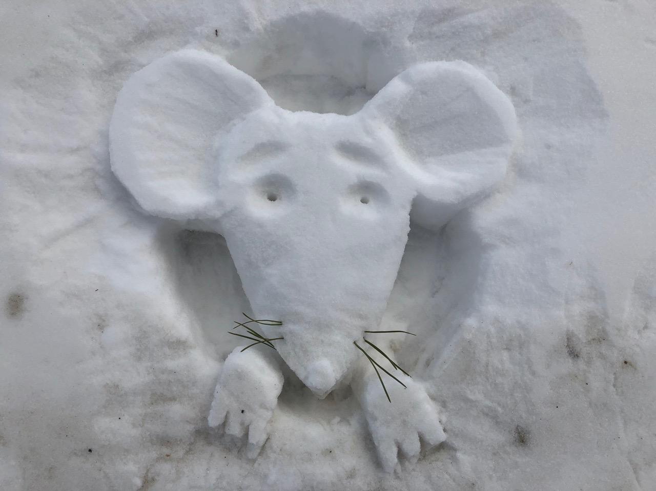 Медиагород принял участие в фестивале снежных скульптур