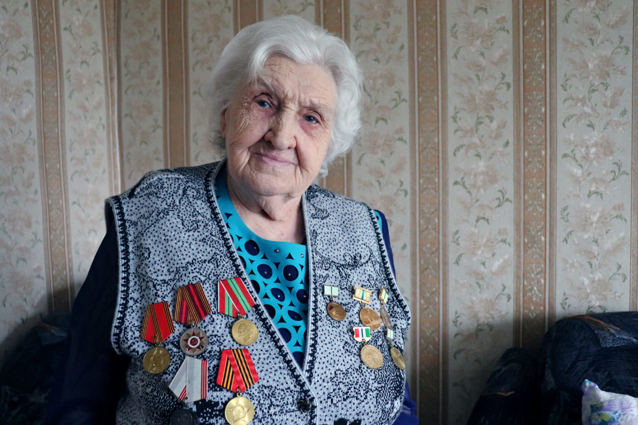 ЛюдмилаИльиничнаГОРБУНОВА (Платонова). Блокадница
