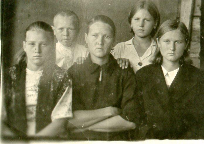 Косова Валентина Петровна. Дитя войны